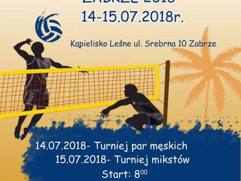 Otwarty Turniej Siatkówki Plażowej Zabrze 2018