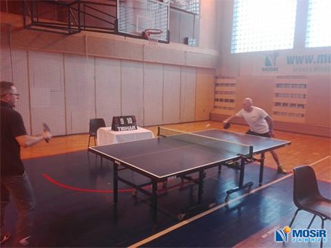 II Międzyzakładowy Turniej Tenisa Stołowego pod Patronatem Prezesa MOSiR w Zabrzu