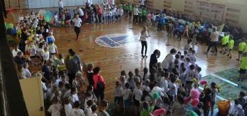 """XVI Międzyprzedszkolny Turniej Sportowy ,,Show na sportowo - bawimy się zdrowo"""" FOTOGALERIA"""