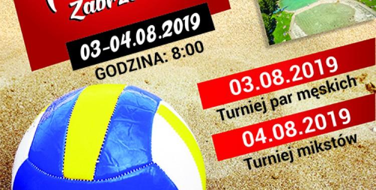 """Turniej Siatkówki Plażowej ,,Leśna Plaża"""""""