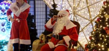 Mikołaj odwiedził halę MOSiR