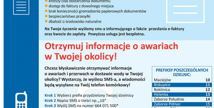 Zabrzańskie Przedsiębiorstwo Wodociągów i Kanalizacji Sp. z o.o. wprowadza szereg udogodnień dla swoich klientów