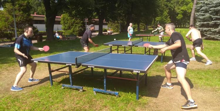 Turniej Tenisa Stołowego na Kąpielisku Leśnym!