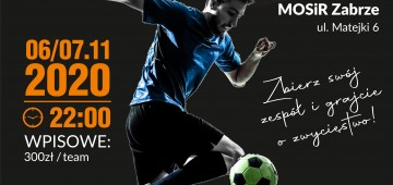 IX Nocny Turniej Piłki Nożnej o Puchar Prezesa MOSiR Zabrze