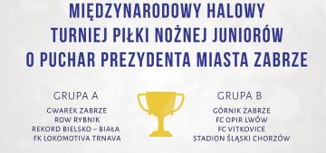 25 Międzynarodowy Halowy Turniej Piłki Nożnej Juniorów o Puchar Prezydenta Miasta Zabrze