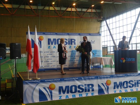 Turniej z okazji Święta Konstytucji 3-go Maja i wręczenie Odznaczeń Państwowych Pracownikom MOSiR Zabrze