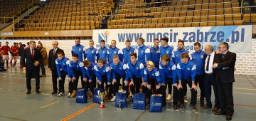 Wyniki XXV Międzynarodowego Halowego Turnieju Piłki Nożnej Juniorów o Puchar Prezydenta Miasta Zabrze