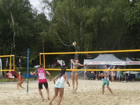 """Turniej Siatkówki Plażowej ,,Leśna Plaża"""" już za nami!"""