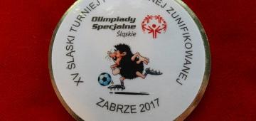 XV Śląski Turniej Piłki Nożnej Halowej Zunifikowanej Olimpiad Specjalnych Zabrze 2017