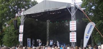 Trzecie urodziny Radia Silesia na Kąpielisku Leśnym