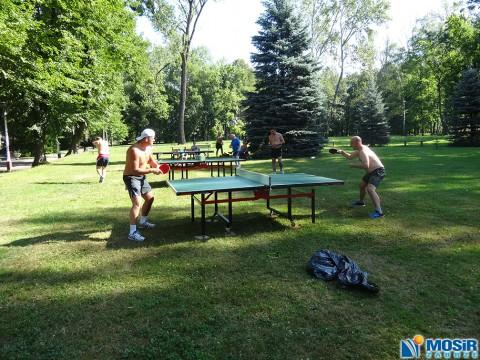 Turniej Tenisa Stołowego na Kąpielisku Leśnym